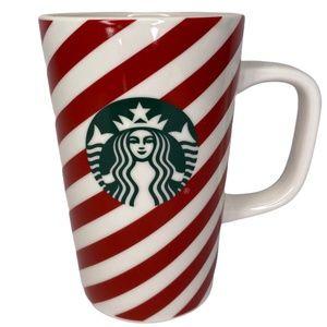 Starbucks Holiday Candy Cane Striped Coffee Mug